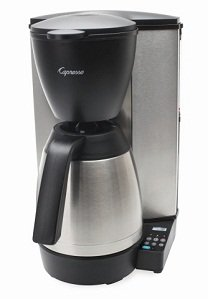 Capresso MT600 Coffee Maker - Stainless Steel with Black