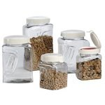 Snap Lid Storage Containers for Coffee